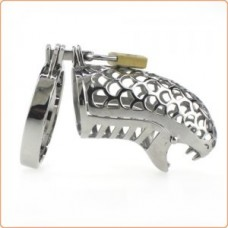 Master Series 19 Snakehead Chastity Device (47.5mm & 50mm Incl.)