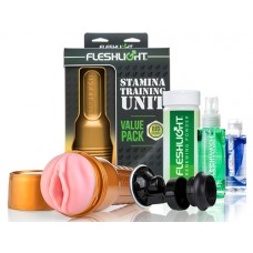 Fleshlight STU Stamina Training Unit Value Pack Kit