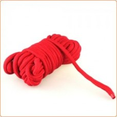 Japanese Cotton Rope in Red - 10M