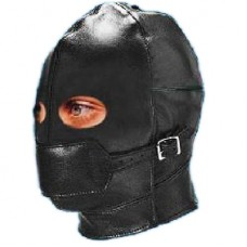 Luxury Mask Hood without Mask (Ball Gag included)