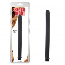 "Black Mont 9.6"" Silicone Douche Tube"