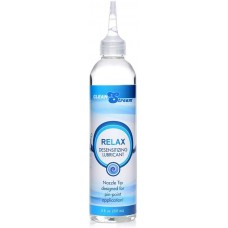 Clean stream Relax Desensitizing Anal Lube with Dispensing Tip 8oz
