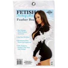 Fetish Fantasy Feather Boa White