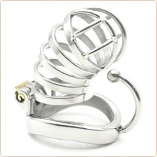 Master Series 3 Ball Hook CockCuff Chastity Cage (50mm)