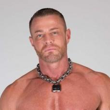 Alpha Big Dog Collar RAW Finish