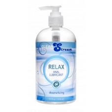 Clean Stream Relax Desensitizing Anal Lube, 17.5 oz.