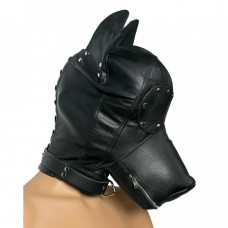 Heavy Duty Hood With Dog Figure ( 100% Genuine Leather )