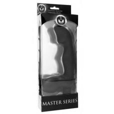 Master Series Karma Silicone Strapless Vibrating Dildo Black