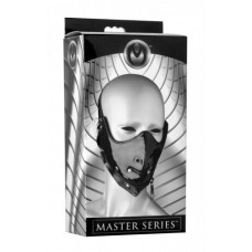 Master Series Lektor Zipper Mouth Muzzle Black