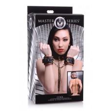 Master Series Coax Collar to Wrist Restraints