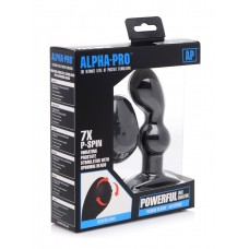 Alpha Pro 7X P-Spin Vibrating Prostate Stimulator with Spinning Beads