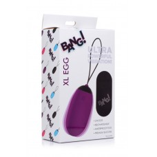 Bang - XL Silicone Vibrating Egg - Purple