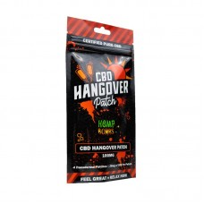 Cannabis Bombs Patch Hangover 4ct 25mg