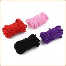 Bondage And Fetish Cotton Rope - 5 M ( Black )