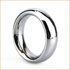 ButtStuffer - Surgical Steel Donut Cock Ring - 50mm