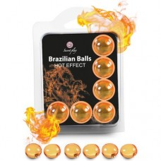 Brazilian Massage Oil Balls Set of 6 - Hot Effect