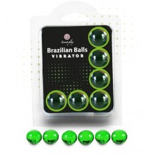 Brazilian Massage Oil Balls Set of 6 - Vibrator
