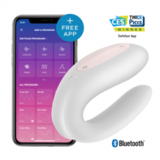 Satisfyer Double Joy Con App - White