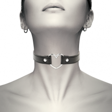 Coquette Chic - Hand Crafted Vegan Leather Heart Choker