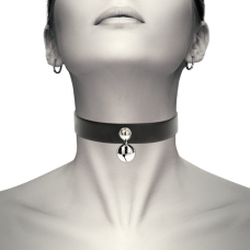 Coquette Chic - Hand Crafted Vegan Leather Jingle Bell Choker