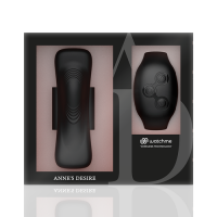 Watch Me - Anne's Desire - Panty Pleasure With Wireless Remote Control Watch Technology - Black