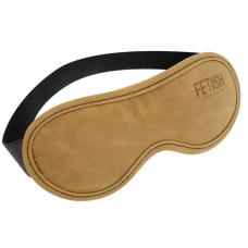Fetish Submissive Genuine Vegan Leather Origin - Blindfold