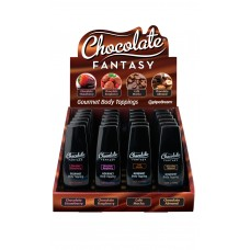 Chocolate Fantasy Gourmet Body Toppings Chocolate Almond. 1.25ounce (1bottle)