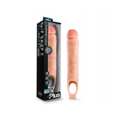 Performance Plus - 11.5 Inch Silicone Cock Sheath Penis Extender - Vanilla