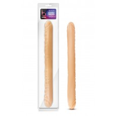 "B Yours - 18"" Double Dildo - Beige"